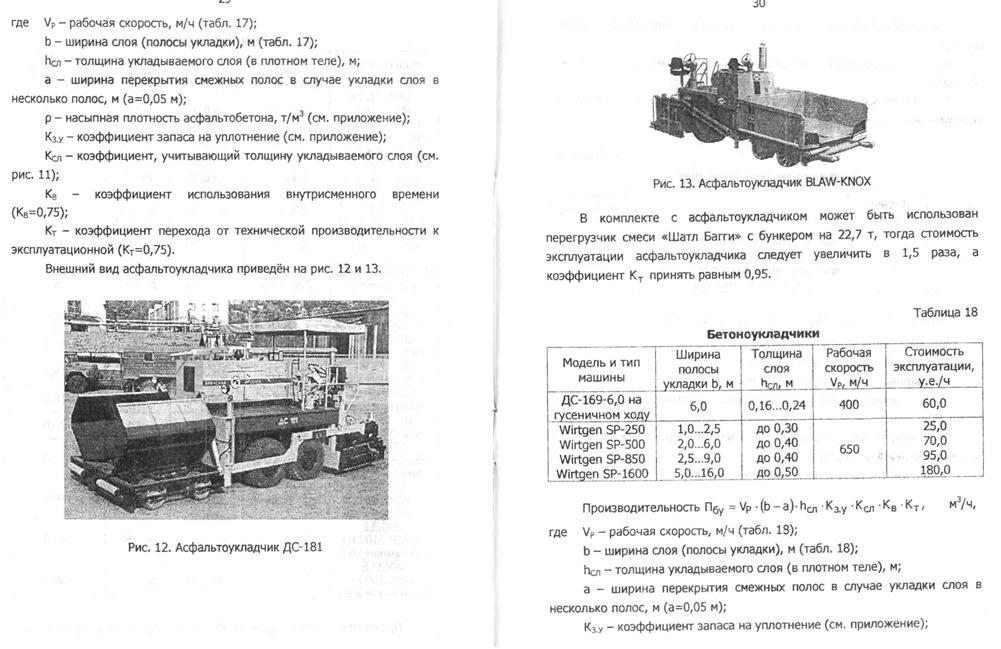 Средства дорожной механизации
