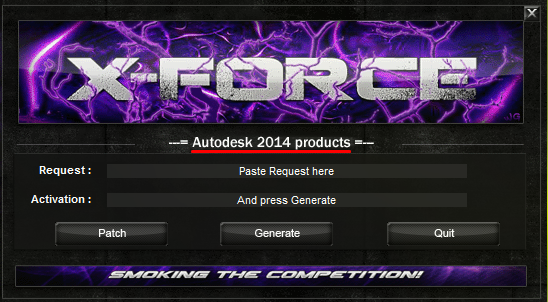 x-Force keygen for A…